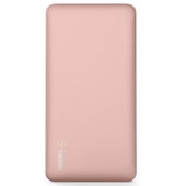 Belkin - Pocket Power Power Bank 5,000 mAh - Rose Gold
