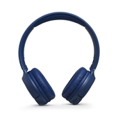 JBL - LIVE 500BT Over Ear Bluetooth Headphones - Blue