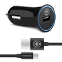 Micro-USB Rapid Charging Vehicle Charger 2.4A