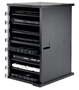 NewerTech NuGuard Universal Tablet Rack for Storing and Charging Up to Eight Devices - Black