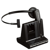 Plantronics W740-M Savi Office Convertible Wireless Headset Optimized for Lync (PC/Desk/Cell)