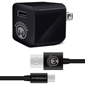 HyperGear Rapid Wall Charger 2.4A with MicroUSB Cable