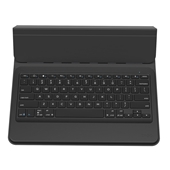 ZAGG - Messenger Universal Bluetooth Keyboard with Stand for up to 8in Tablets - Black