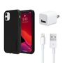 iPhone 11 Bundle with Incipio Dual Pro Case - Apple OEM Wall Charger, Lightning Cable