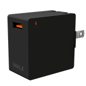 iWalk - Leopard Quick Charge 3.0 Wall Charger 2.4A Universal - Black