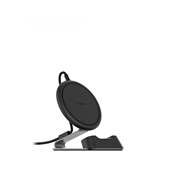 mophie - Charge Stream Wireless Charging Desk Stand 10W - Black