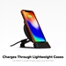 mophie - Charge Stream Wireless Charging Desk Stand 10W - Black - 409901555