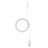 mophie - Type C to Apple Lightning Cable 3ft - White