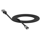mophie - Type C to Apple Lightning Cable 6ft - Black