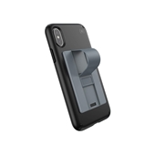 Speck - GrabTab Device Stand and Grip - Paperclip Gray / Stormy Gray