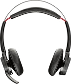 Plantronics Voyager Focus UC Stereo Bluetooth Headset with Active Noise Canceling (ANC), Standard, No Stand