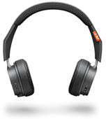 Plantronics Backbeat 500 Series Wireless Headphones - Dark Gray