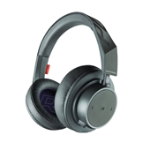 Plantronics Backbeat Go 600 Series Over-the-Ear Wireless Headphones - Gray