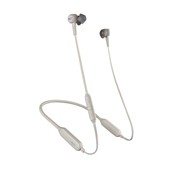 Plantronics Backbeat Go 410 Wireless Active Noise-Canceling Earbuds - Bone