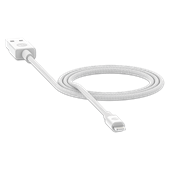 mophie - Type A to Apple Lightning Cable 3ft - Black