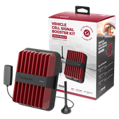 weBoost - Drive Reach Cellular Signal Booster Kit - Red / Black