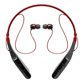 LG - Tone Triumph HBS-510 In Ear Bluetooth Headset - Red