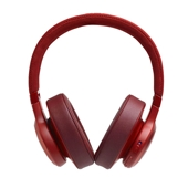 JBL - LIVE 500BT Over Ear Bluetooth Headphones - Red