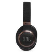 JBL - LIVE 650BTNC Over Ear Noise Cancelling Bluetooth Headphones - Black