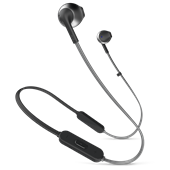 JBL - T Series T205BT In Ear Bluetooth Headphones - Black