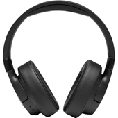 JBL - Tune 750BTNC Wireless Over Ear Noise Cancelling Bluetooth Headphones - Black