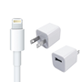Apple Travel Charger with 8-Pin Lightning Cable - White