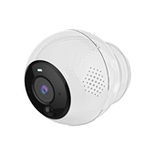 Motorola Orbit Battery Operated Wifi HD Indoor/Outdoor Camera with Magnetic Mount - 1080P - White