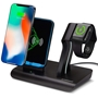 2-in-1 Desktop Solution - The HyperGear Wireless Charging Dock
