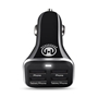 HyperGear High-Power Quad USB 6.8A Charger - Black