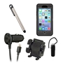 Otterbox Defender Rugged Case Bundle for iPhone 6S/6 - Black