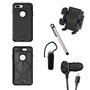iPhone 8/7/6S/6/SE Otterbox Defender Rugged Case Bundle - Black